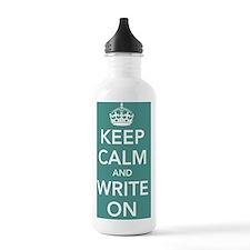 writeonposterturq Water Bottle