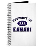 Property of kamari Journal