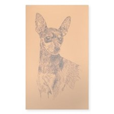 Miniature_Pinscher_Kline Decal