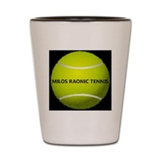 tennis_ball_milos Shot Glass