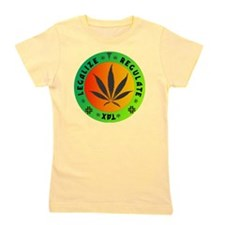 legalize regulate tax round Girl's Tee