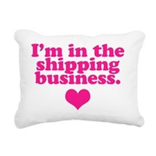 shipping-business Rectangular Canvas Pillow