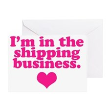 shipping-business Greeting Card