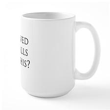 Shaved Coffee Mug