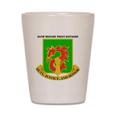 DUI-504TH MILITARY PLC BN  WITH TEXT Shot Glass