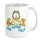Beyond Help Garfield Coffee Mug