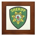 El Dorado Sheriff Framed Tile