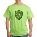 El Dorado Sheriff Green T-Shirt