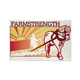 Unique Farms Rectangle Magnet (10 pack)