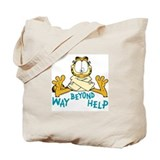 Beyond Help Garfield Tote Bag