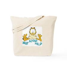 Beyond Help Garfield Tote Bag