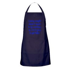 losing-weight_tall Apron (dark)