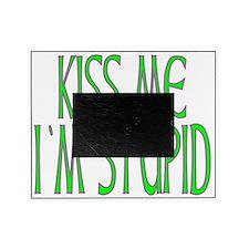 KISSMEIMSTUPID Picture Frame