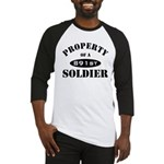 Property of a 891st Soldier Baseball Jersey
