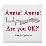 Annie! Annie! 2 Tile Coaster