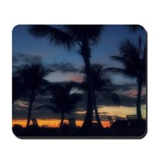 CC - POOL SUNSET Mousepad