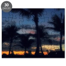 CC - POOL SUNSET Puzzle