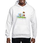 Odie walk in the Park Hooded Sweatshirt
