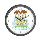 Odie Journey Wall Clock
