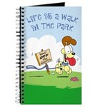 Odie walk in the Park Journal