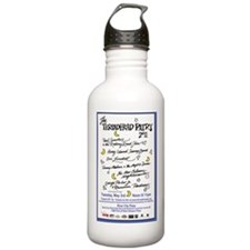 Patry 11 Large Poster  Water Bottle