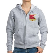 2nd Florida Cavalry (flag 10) Zip Hoodie