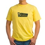 Palm Springs Library Yellow T-Shirt