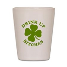 clovers Shot Glass