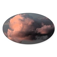 small magenta sunset Decal