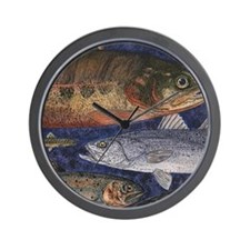 Trout Wall Clock