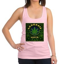 CANNABIS SATIVA Racerback Tank Top