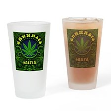 CANNABIS SATIVA Drinking Glass
