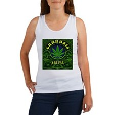 CANNABIS SATIVA Women's Tank Top