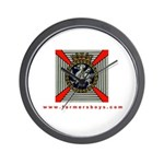 Farmersboys Wall Clock