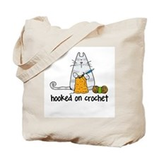 Hooked on crochet II Tote Bag