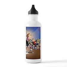 concert poster Water Bottle