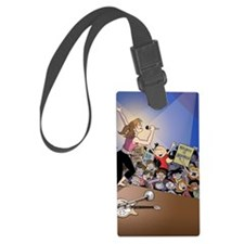 concert poster Luggage Tag