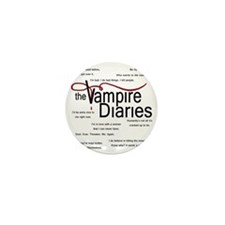 vamp quotes dark Mini Button