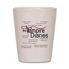 vamp quotes dark Shot Glass