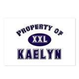 Property of kaelyn Postcards (Package of 8)