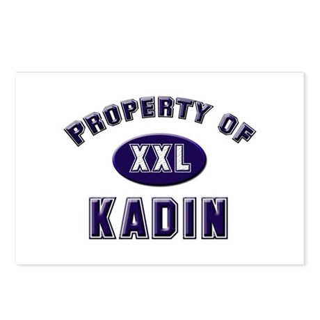 Property of kadin Postcards (Package of 8)