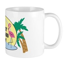 Crazy Flamingo Lady Mug