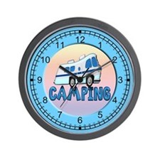 camping wallclock Wall Clock