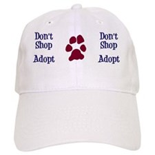 Dont Shop Adopt Mug Baseball Cap