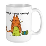 Rather be knitting Mug