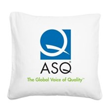 ASQ-Logo-color-3 Square Canvas Pillow