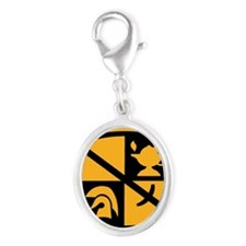 ROTC LP Silver Oval Charm