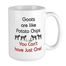 Goats are Like Potato Chips Mug