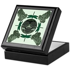 Celtic Dragonflies Keepsake Box