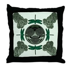 Celtic Dragonflies Throw Pillow